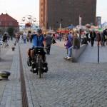 Wismar, Ankunft an der Ostsee