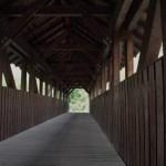 Ponte di legno sull'Adige