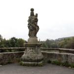 an der Regnitzbrücke in Forchheim