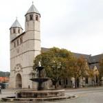 Stifftskirche mit Abteigebäude
