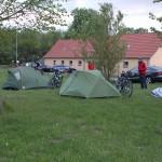 unser Camp im Naturdorf Eickhof