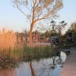 Abendstimmung im Kanu-Camp