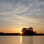 Sonnenuntergang am Bützower See