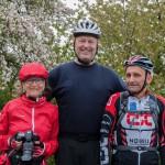 Karen, Werner und Heiko