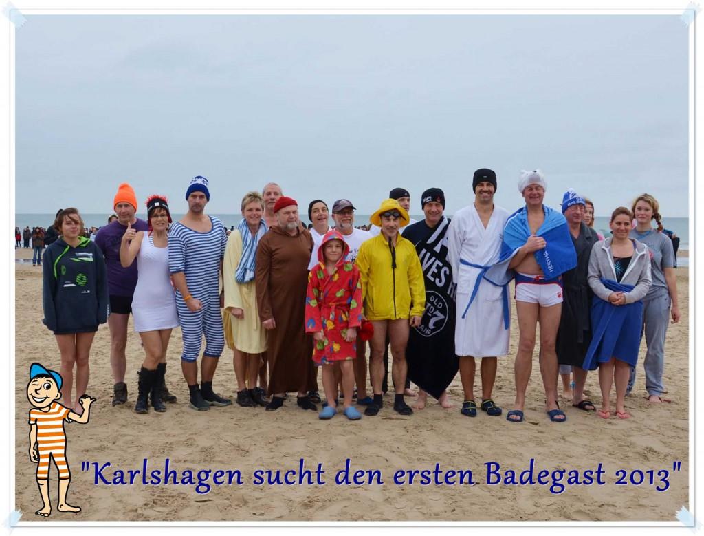 Karlshagen sucht den ersten Badegast 2013