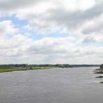 Elbe  mit Blick auf Dömitz