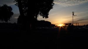 Sonnenaufgang am Jabeler See