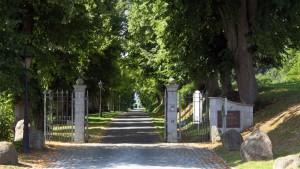 Einfahr zur Burg Schlitz