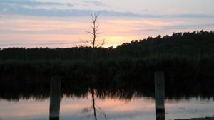 Sonnenuntergang in Trittelwitz