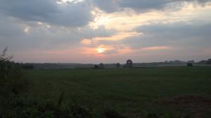 Sonnenaufgang in Trittelwitz