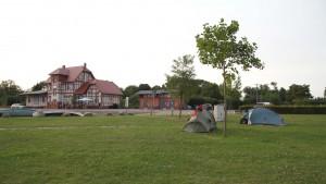 Gaststätte im Hafen von Loitzz