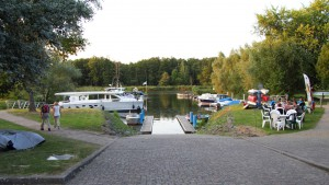 Hafen von Stolpe
