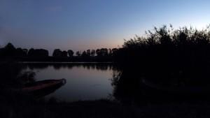 Sonnenuntergang und Kanadier
