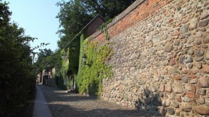 Neubrandenburg, alte Stadtmauer