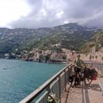 Aussicht auf Amalfi