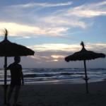 1. Sonnenuntergang am Meer