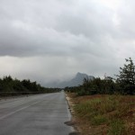 Küstenstraße bei Sabaudia