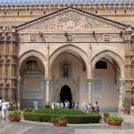 Eingangsportal Cattedrale Maria Santissima Assunta
