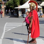 Römer am Eingang