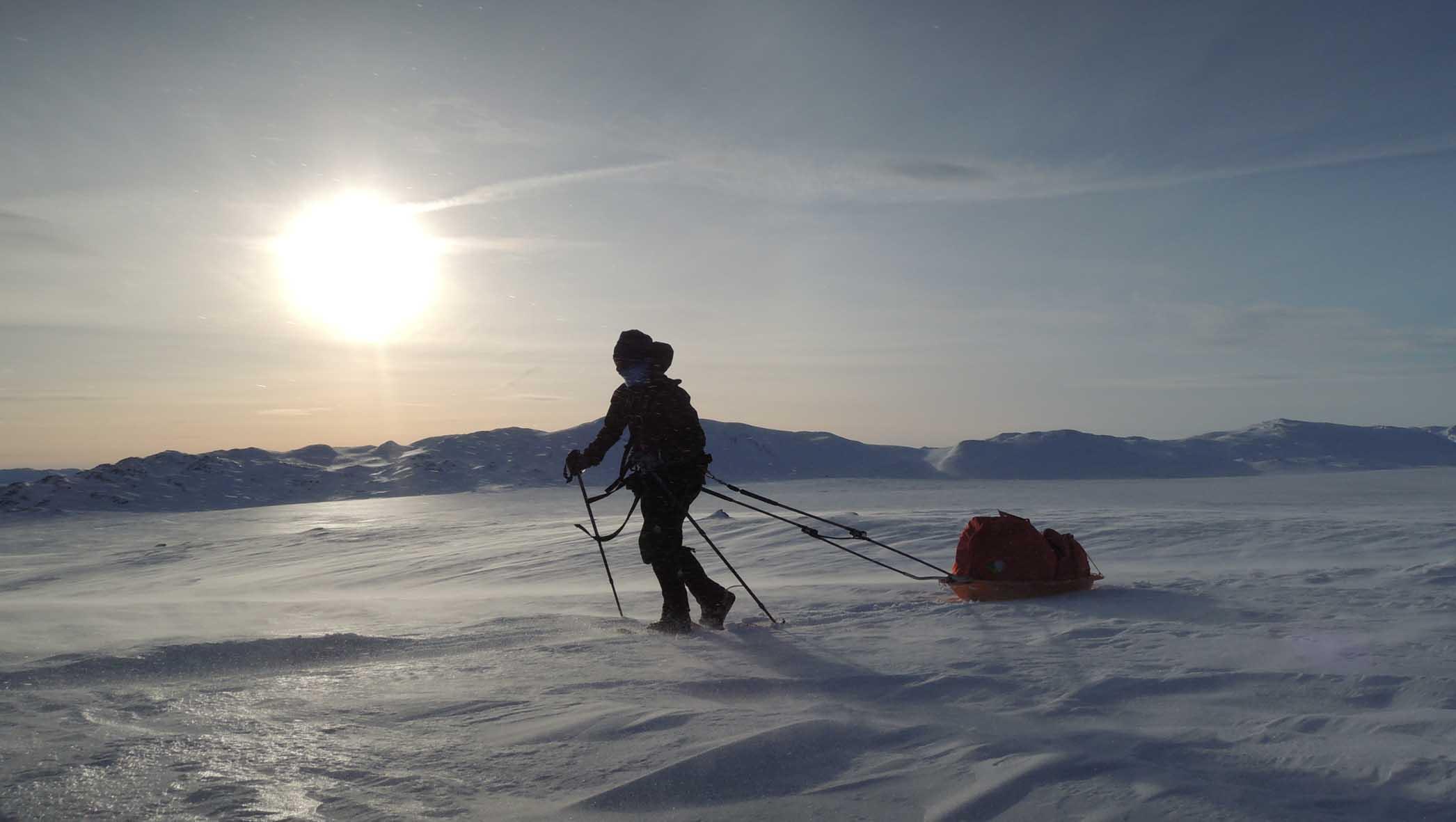 Rüdiger in der Hardangervidda
