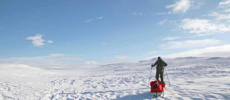Wintertour in der Hardangervidda 2020